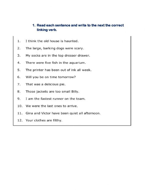 small resolution of Liking verb worksheet