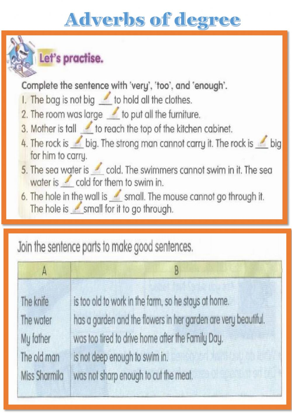 hight resolution of Year 5 - Adverbs of degree worksheet