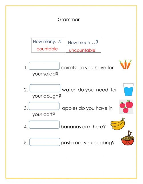 small resolution of Grammar online exercise for 2nd grade