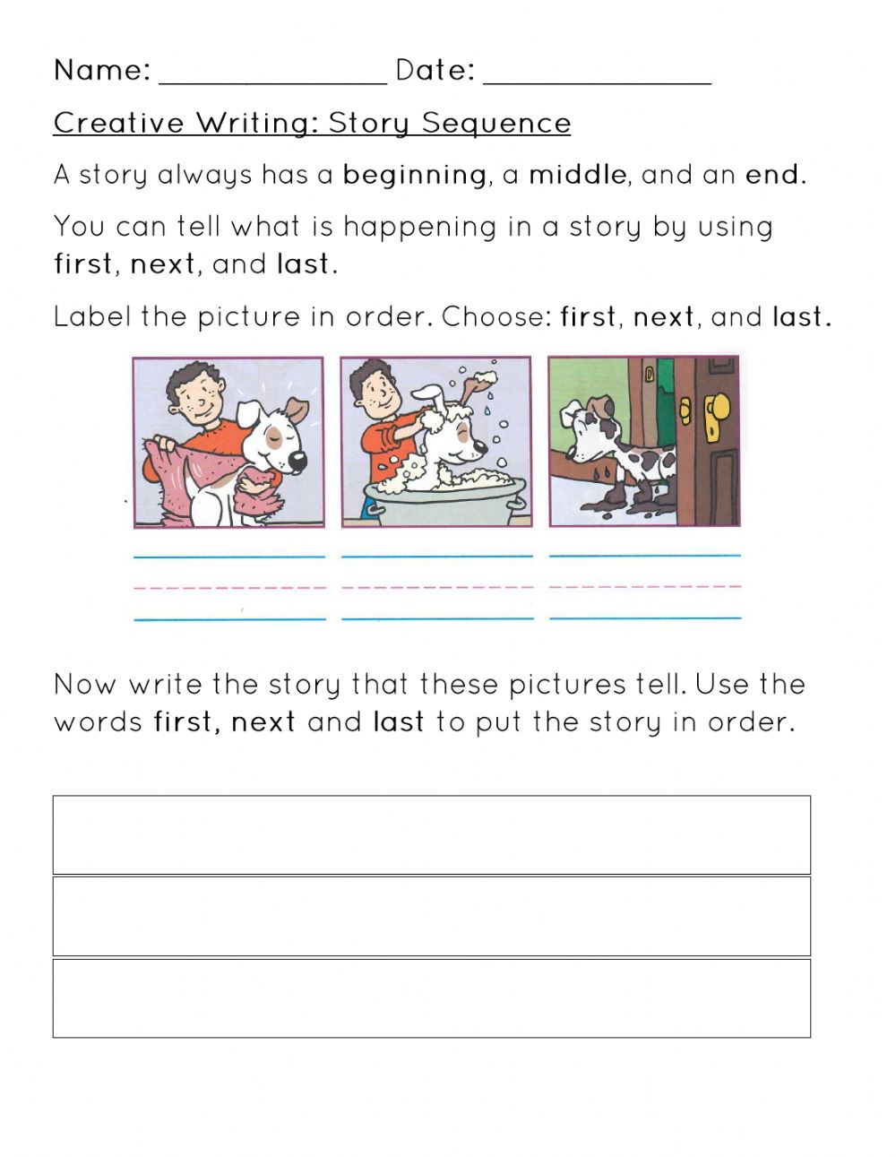 medium resolution of Story Sequence Worksheet worksheet