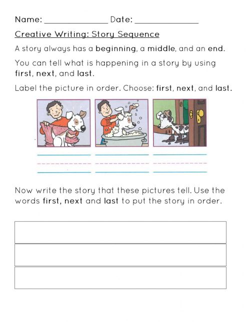 small resolution of Story Sequence Worksheet worksheet