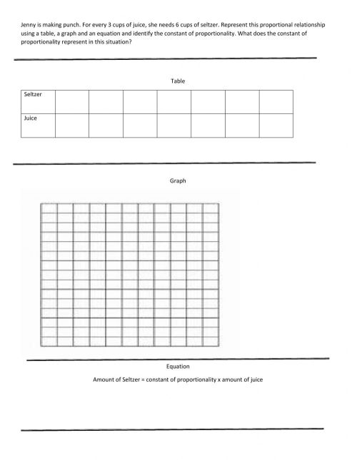 small resolution of Word Problem Unit Rate Gaph worksheet