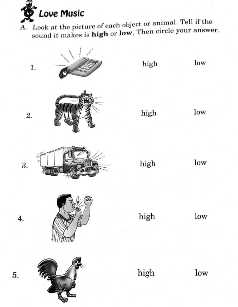 hight resolution of Sounds interactive exercise for grade 2