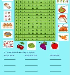 Food online exercise for 4th grade [ 1413 x 1000 Pixel ]