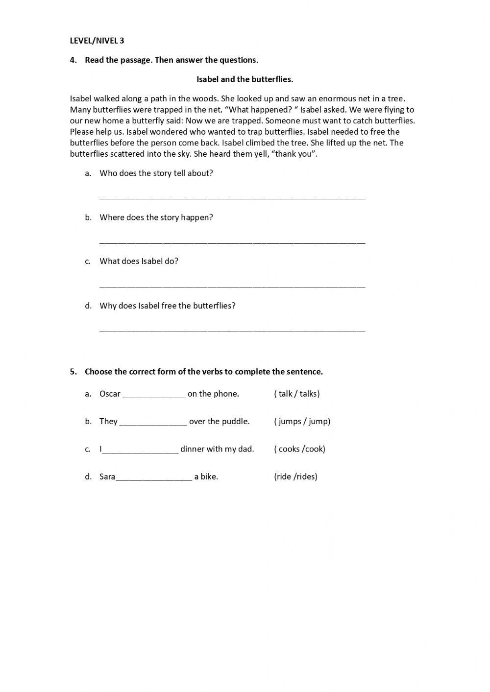 hight resolution of 4th grade Diagnostic Test page 2 worksheet