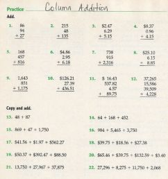 Column Addition grade 4 worksheet [ 1050 x 1000 Pixel ]