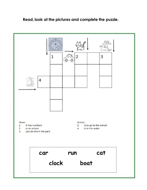 small resolution of Spelling online exercise for Grade 1