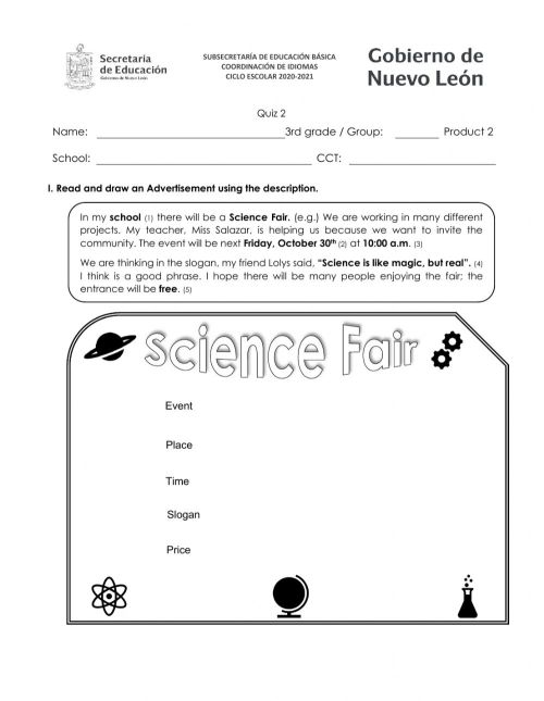 small resolution of 3rd grade Product 2 worksheet