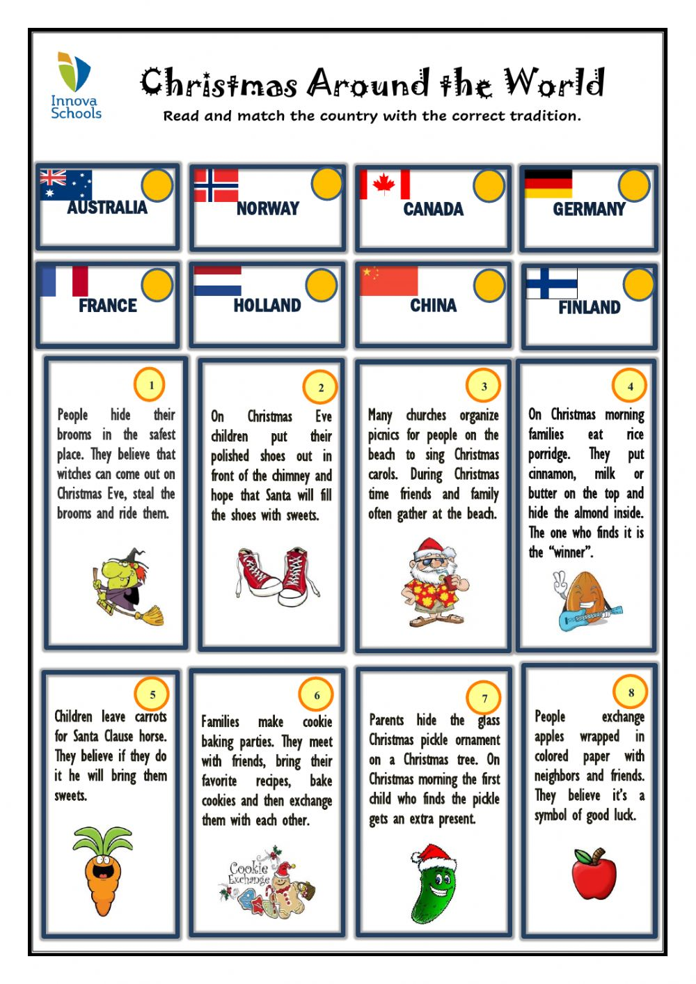 hight resolution of Christmas Reading interactive worksheet
