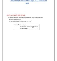 Cct 6 and 7 maths questions worksheet [ 1413 x 1000 Pixel ]