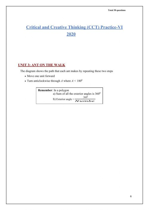 small resolution of Cct 6 and 7 maths questions worksheet
