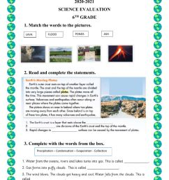 Science online activity for 6TH GRADE [ 1413 x 1000 Pixel ]