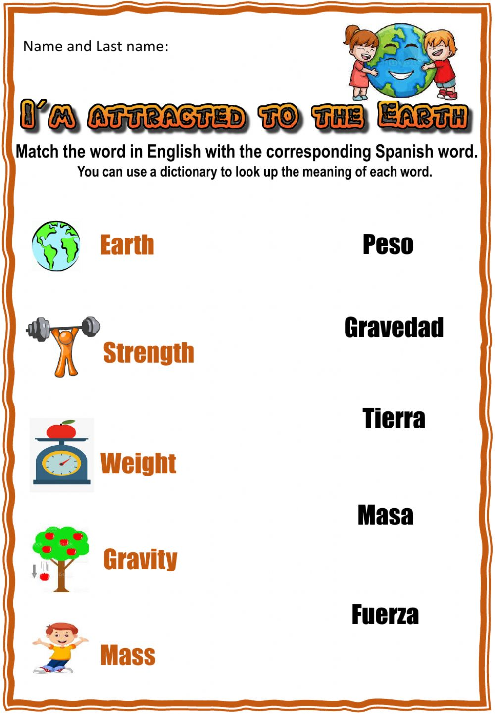hight resolution of 4th. grade. Project week 2 worksheet