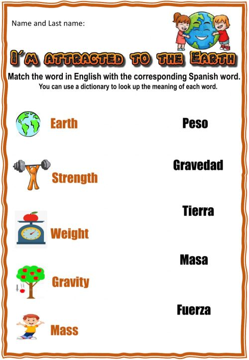 small resolution of 4th. grade. Project week 2 worksheet