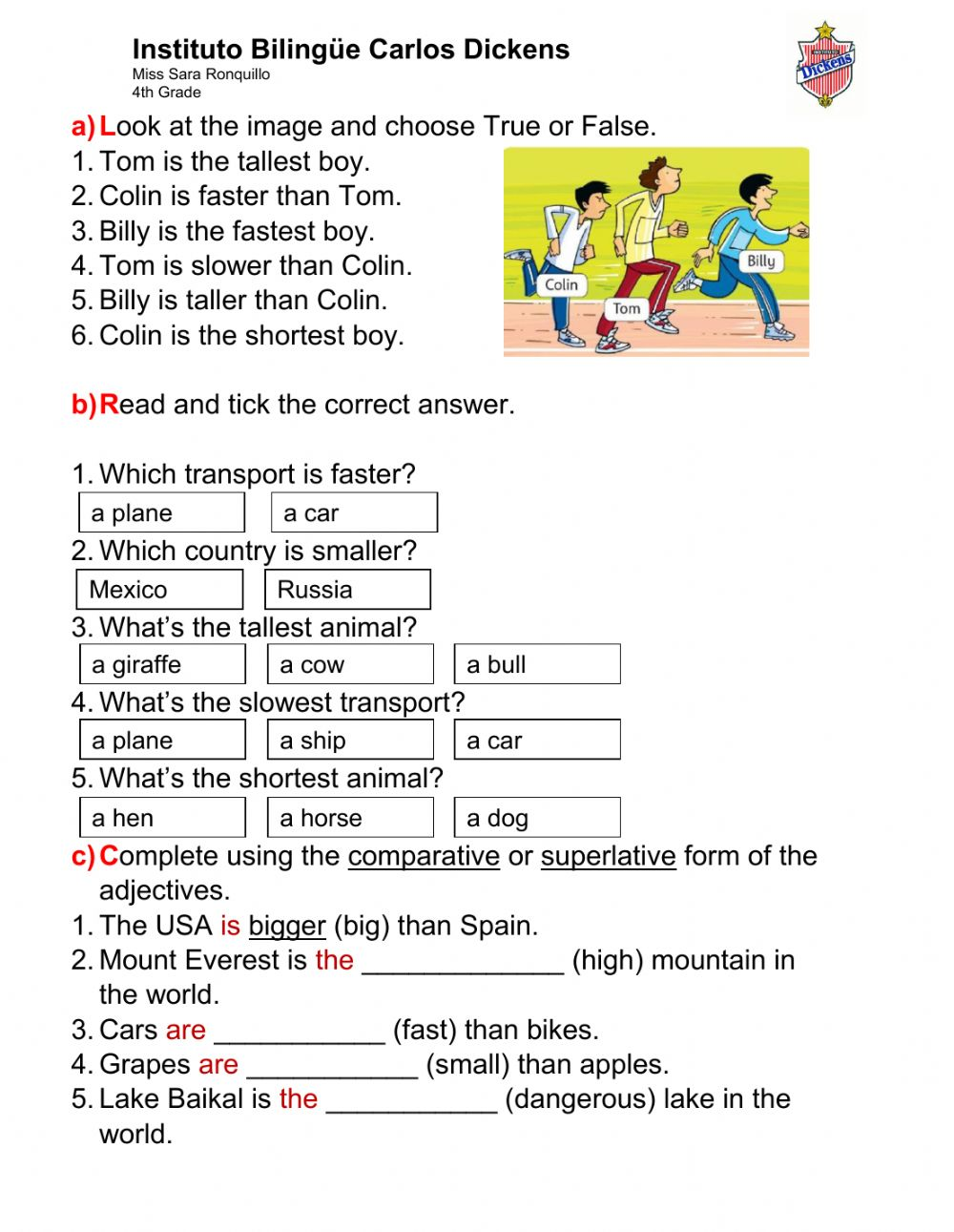 medium resolution of 35 - Grammar Practice - 4-12 worksheet