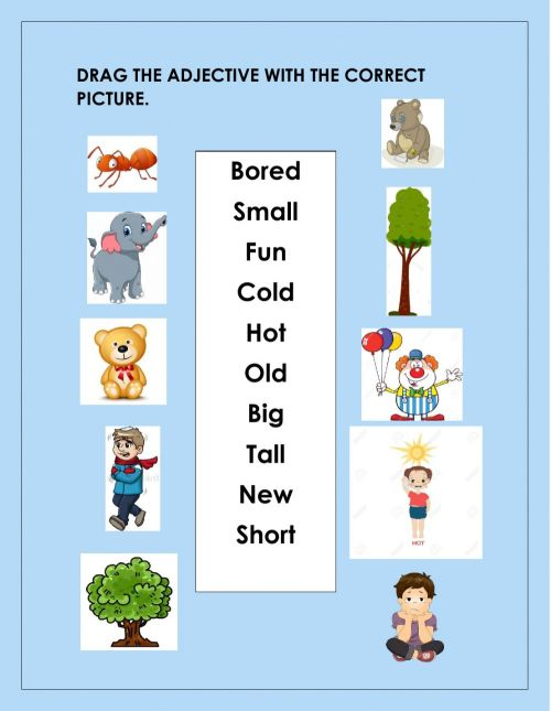 small resolution of Grammar online exercise for 1st Grade