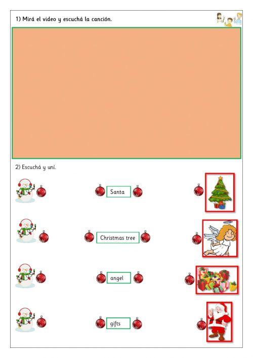 small resolution of Extra 2nd - Christmas worksheet