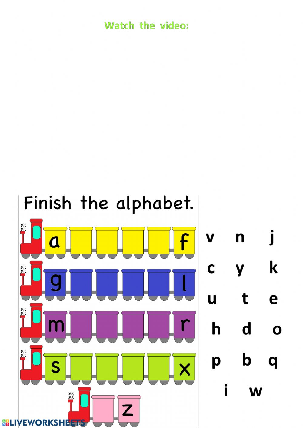 medium resolution of The ABC worksheet