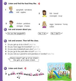 Review 5 Pupils book 3rd grade worksheet [ 1260 x 1000 Pixel ]