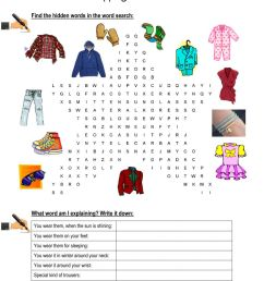 Shopping for clothes worksheet [ 1413 x 1000 Pixel ]