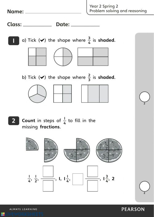 small resolution of Maths problem solving term 2 worksheet