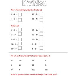 Division with remainders worksheet [ 1413 x 1000 Pixel ]