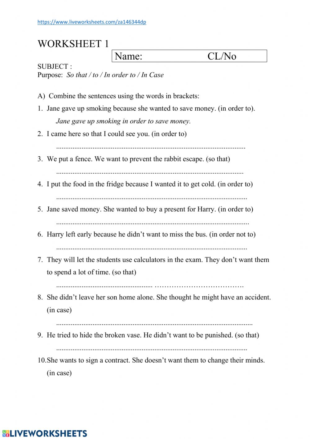 hight resolution of Adverb Clauses Worksheet 1 worksheet