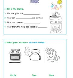 Heat Worksheet worksheet [ 1413 x 1000 Pixel ]
