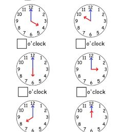 Telling time by the hour worksheet [ 1413 x 1000 Pixel ]
