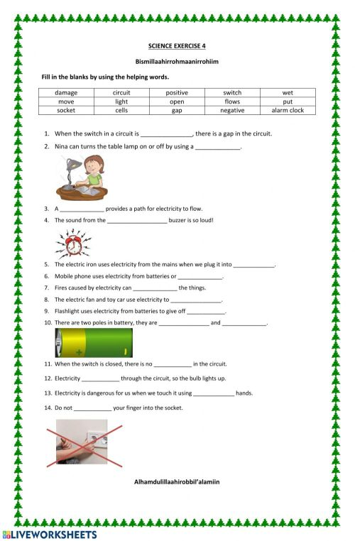 small resolution of Electricity 4 worksheet