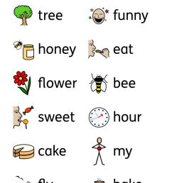 Bee Rhymes worksheet [ 1413 x 1000 Pixel ]