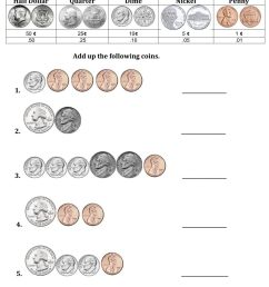 Counting Mixed Coins -1 worksheet [ 1291 x 1000 Pixel ]
