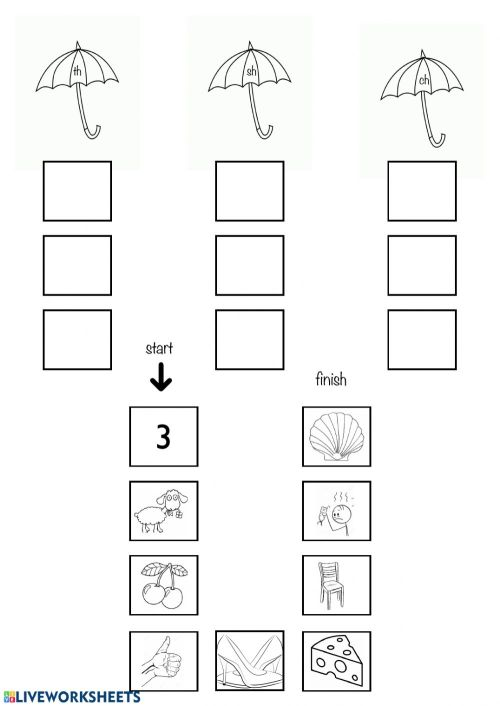 small resolution of Digraphs th-ch-sh worksheet