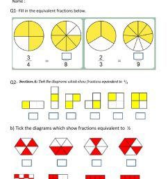 Equivalent Fractions interactive worksheet [ 1413 x 1000 Pixel ]