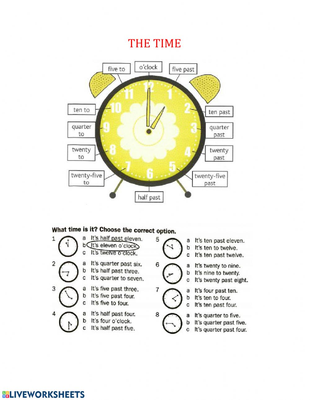 hight resolution of Time worksheet for Grade 6