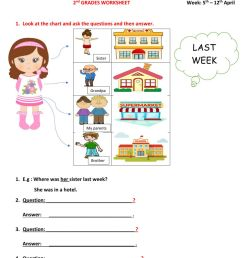 2nd Grade Worksheet [ 1291 x 1000 Pixel ]