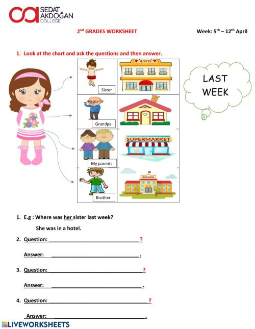 small resolution of 2nd Grade Worksheet