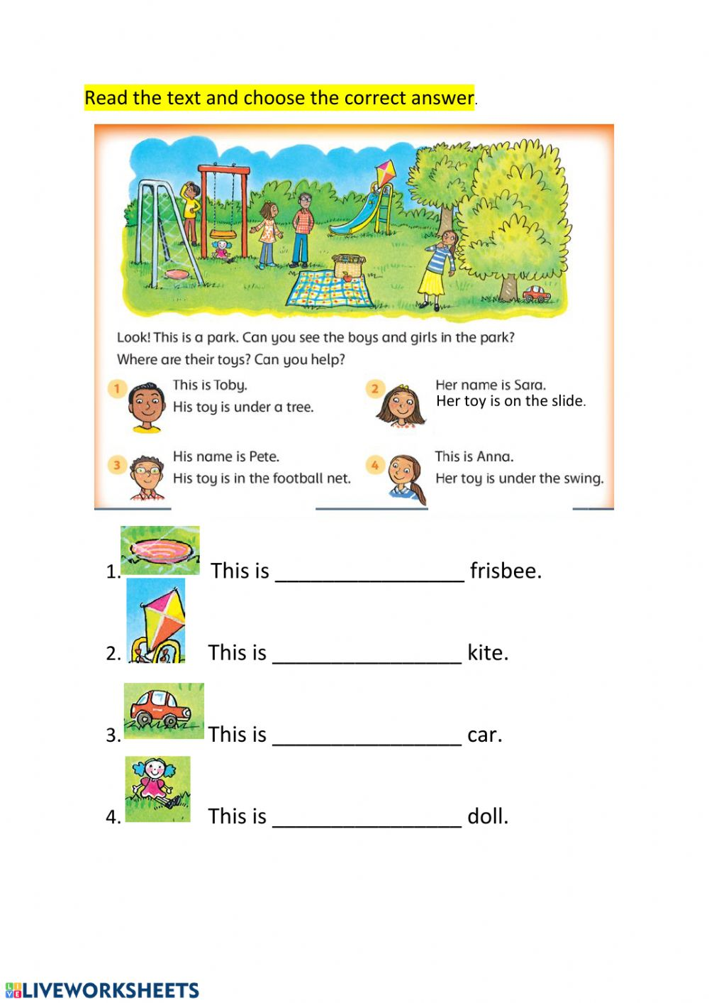 hight resolution of Family Members interactive worksheet for Grade 1