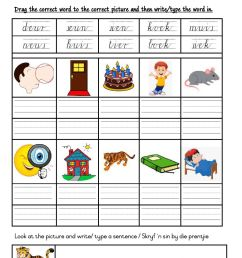 Grade 3: FAL Afrikaans Worksheet 2 worksheet [ 1413 x 1000 Pixel ]