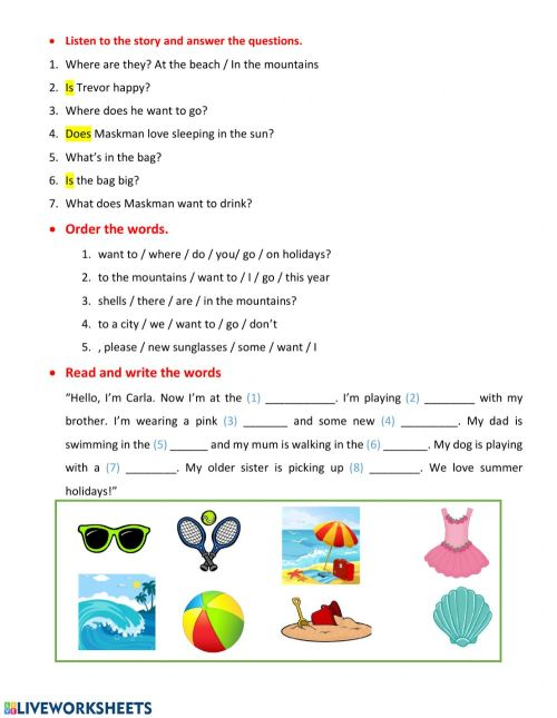small resolution of Clase 20 04 2nd grade worksheet