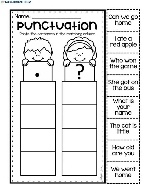 small resolution of Asking VS Telling Sentence worksheet