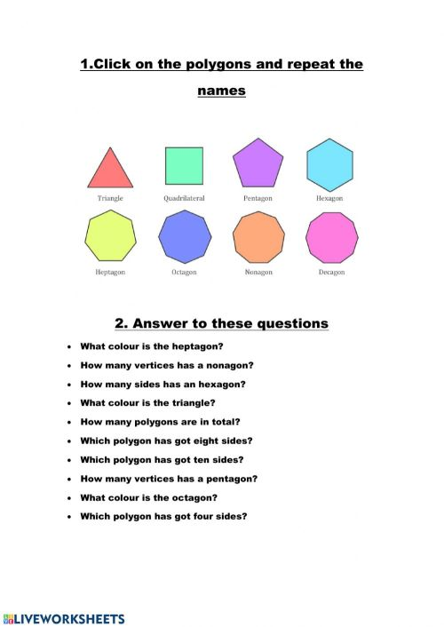 small resolution of Polygons worksheet