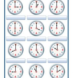 Time interactive exercise for Grade 2 [ 1423 x 1000 Pixel ]