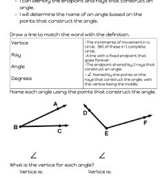 4.MD.5 Naming Angles worksheet [ 1291 x 1000 Pixel ]