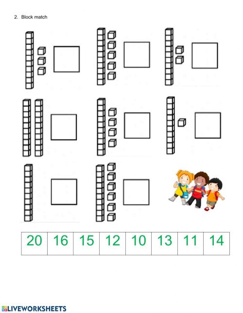 small resolution of Tens and ones - Place value worksheet