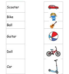 Toys interactive worksheet for 1st grade [ 1413 x 1000 Pixel ]