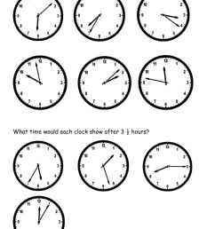 Time and Elapsed Time worksheet [ 1413 x 1000 Pixel ]
