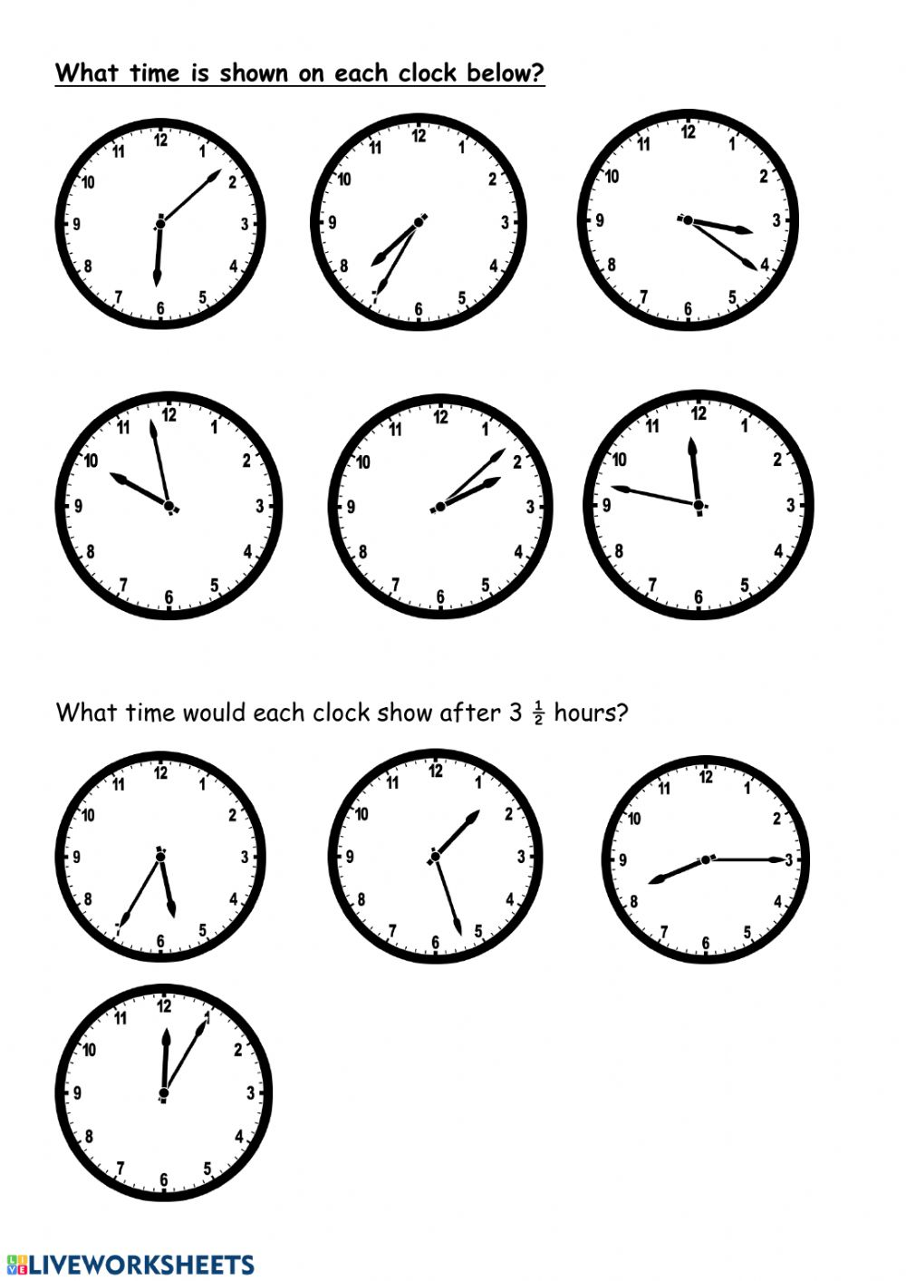 hight resolution of Time and Elapsed Time worksheet