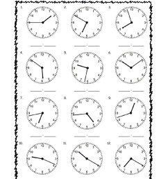Telling Time interactive worksheet for grade 3 [ 1291 x 1000 Pixel ]