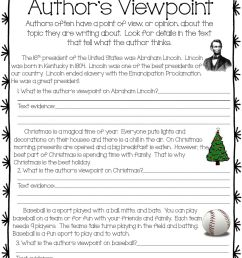 Author's Viewpoint worksheet [ 1291 x 1000 Pixel ]